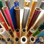 Printing for Omaha and National Clients - Vinyl Rolls - Design 4 Inc.