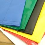 Sewing, sew, hem, sewn hem, finish, banner, fabric banner, Design 4 Inc,, Design 4 Omaha, Wholesale printing, grommet, gold ring