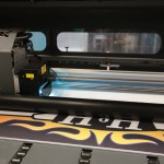 Our digital printing machine in Omaha, NE.
