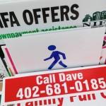 Corro, corrugated plastic, yard sign, screen printed sign, spot color, yard sign omaha, yard sign printing, wholesale printing, wholesale signs
