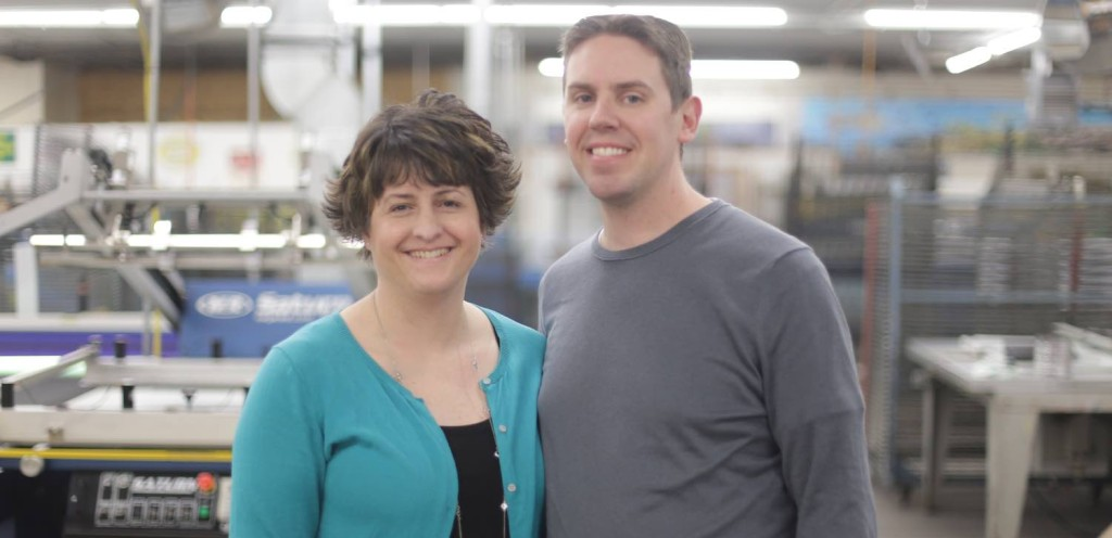 Omaha Printing Power Couple - Design 4. Inc. Omaha NE