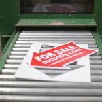 Omaha Printing - Design 4 Inc. - Omaha, NE - Real Estate Printing - For Sale Sign - Cutout, Die Cut, custom shape, wholesale printing, wholesale signs