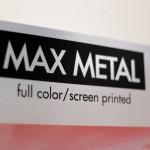 Print shop omaha, wholesale printing omaha, wholesale printing nebraska, metal, aluminum, composite metal, max metal, screen print, digital print, custom printing, national printing